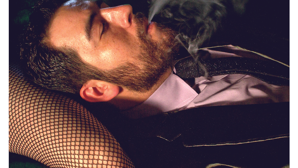 "MXM BLACK ""SMOKING"" T-SHIRT"