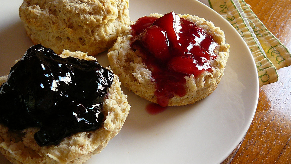 HOMEMADE JAM - For Kitchen Use w/ Biscuits