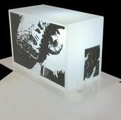 Silkscreen / Serigrafi Plexiglas, lighting / Pleksiglas, aydınlatma 2004