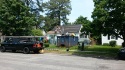 a complete remove and replace  roof