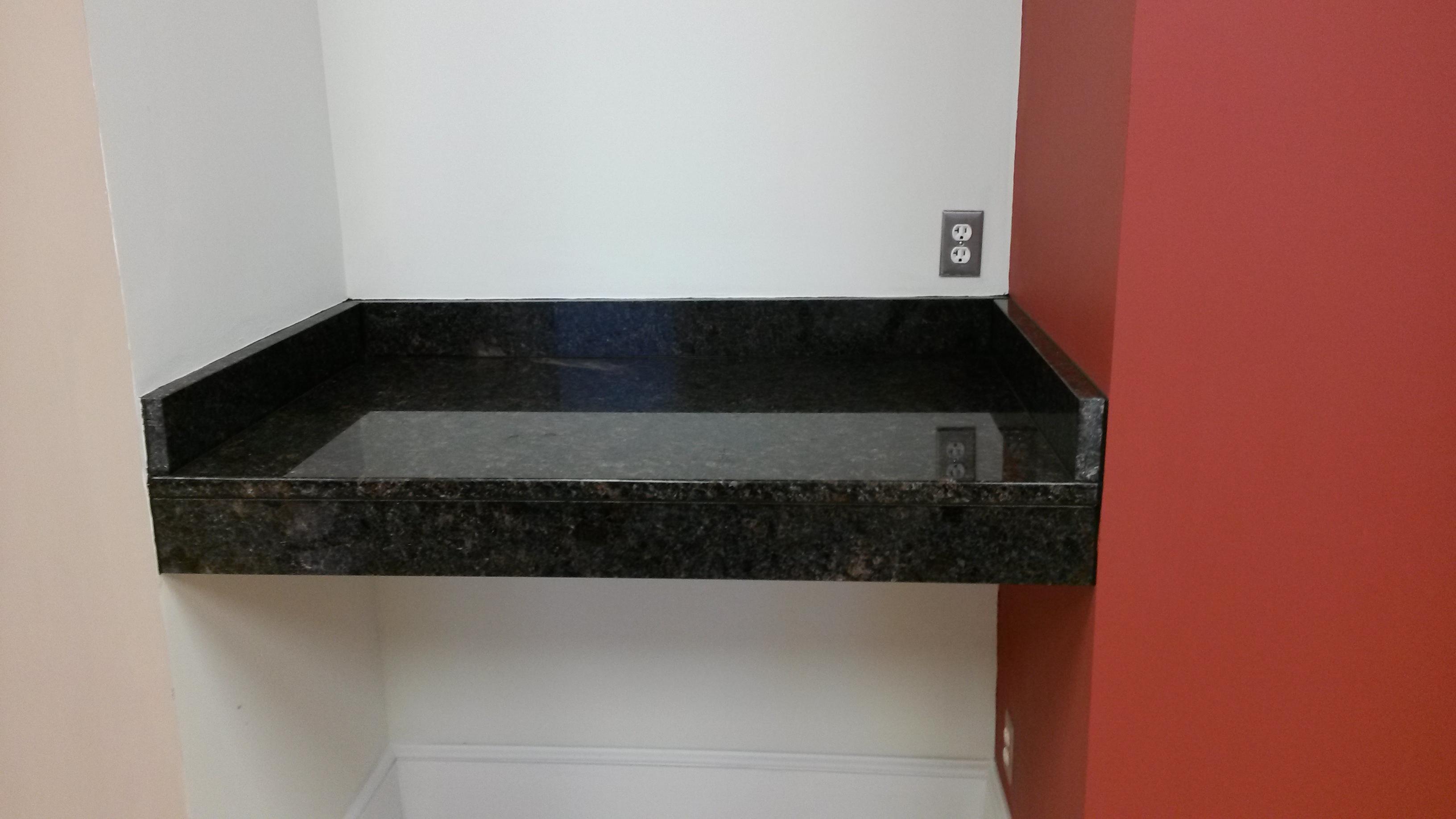 granite top work station
