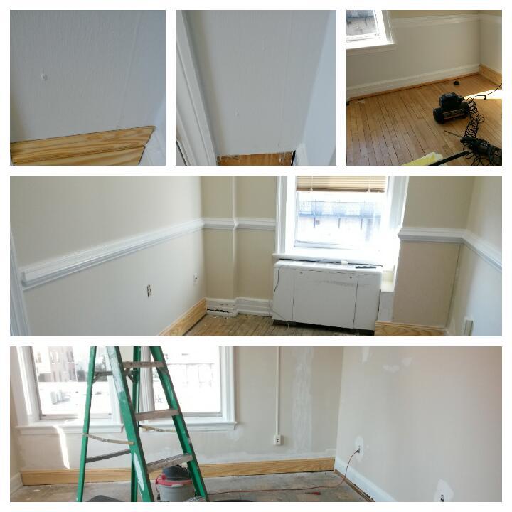 2-part trim match, exsiting(office)