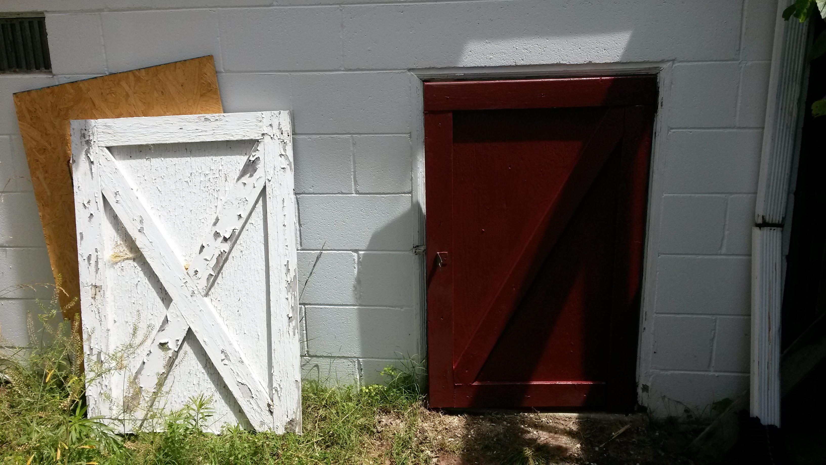 new access door