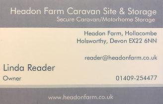 Caravan Site & Storage