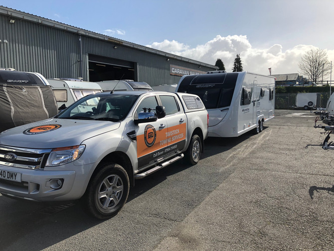 New Caravan from Tamar Towing & Caravans