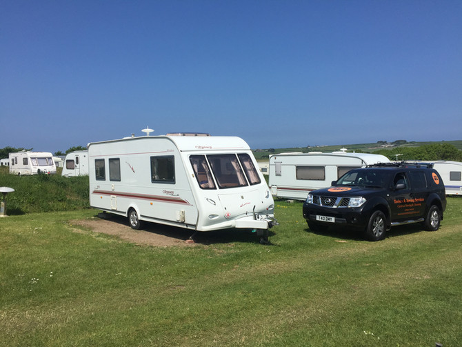 Caravan Tow to St Minver