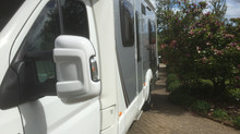 Swift Motorhome wash & wax.