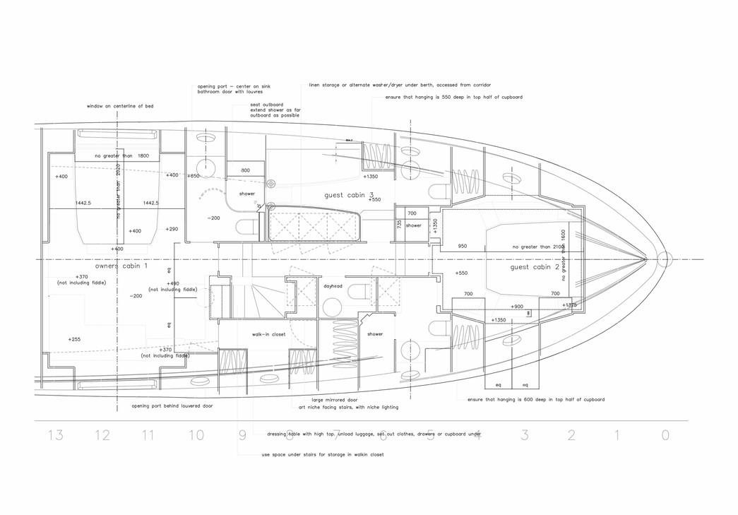 Ocean Class 70 Lower Deck