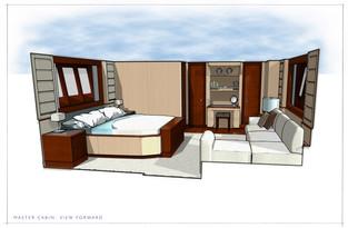 Ocean Class 70 - Master Cabin