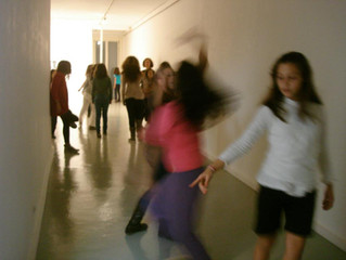 Aula de dança na Porta 33
