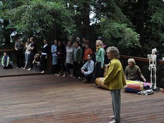 Workshop with Anna Halprin