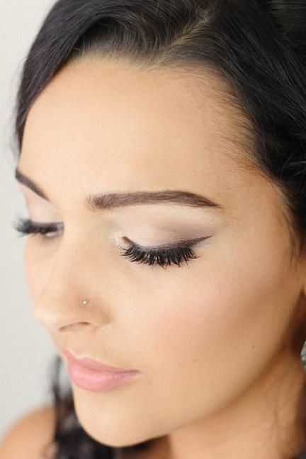 Natural 60's Inspired Bridal Makeup