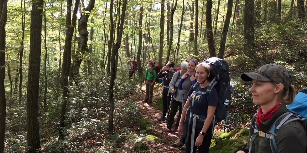 Deep Slowing: Forest Bathing Backpack Trip