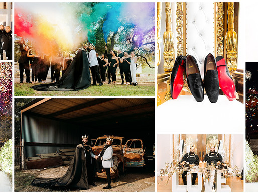 YAS KINGS! A Royal Wedding at The Kendall Point   Snap Chic Photography   Boerne, TX