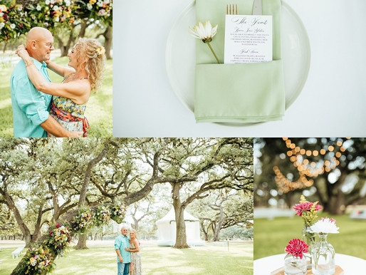 The Oaks at Boerne | 50th Wedding Anniversary | Mike + Charlotte