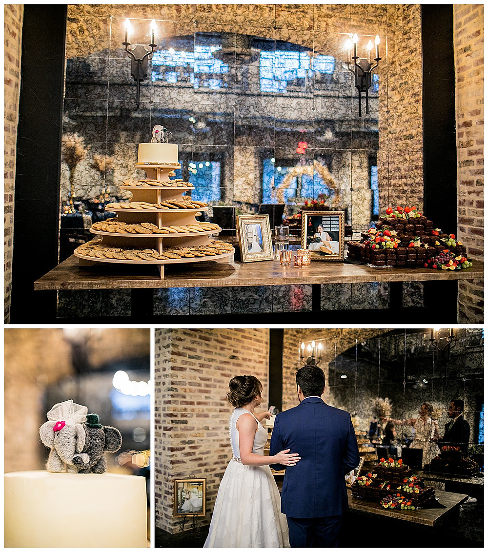 Park 31 Wedding | Wedding Planner | Wedding Details | Bridal Party | San Antonio Wedding Planner | Hill Country Wedding Planner | Luxury Event Planner | Cookie Cake | Brownies | Grooms Cake | Wedding Cake