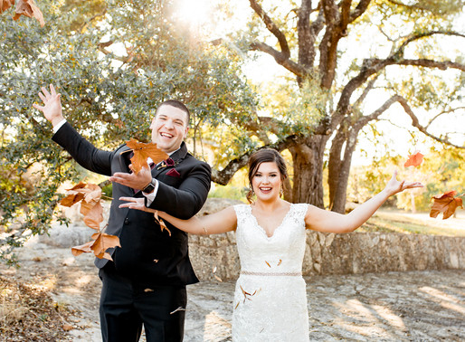 An Elegant Fall Wedding at The Kendall Point | Hope + Troy | Snap Chic Photography | Boerne, TX