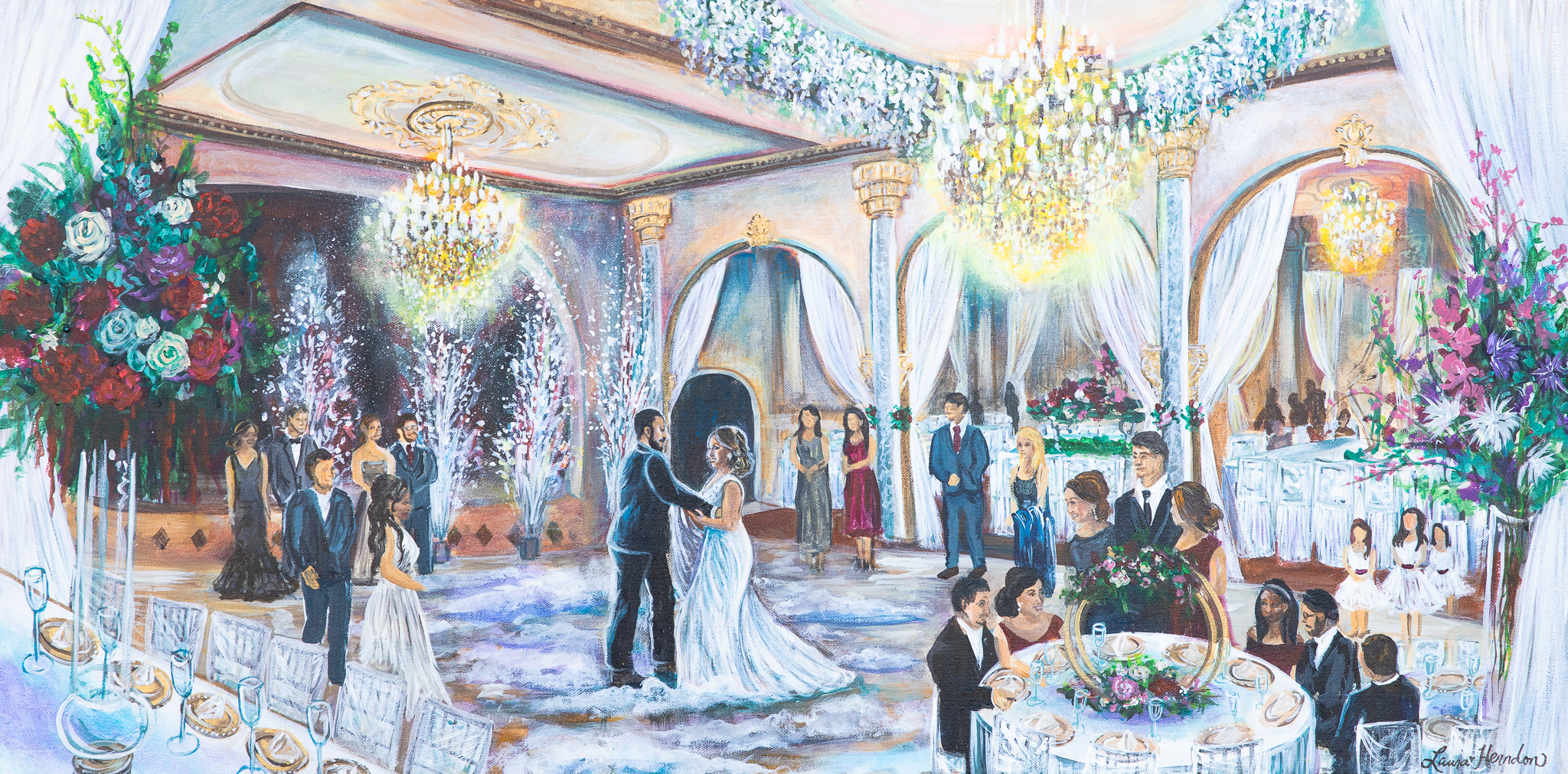 San Antonio Wedding Painter