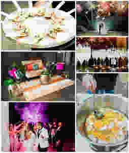 Summer Wedding | Wedding Planning | Wedding Venues | Spring Wedding | Brunch Wedding | Brunch | Outdoor Wedding | Garden Wedding | Bouquet | Spring Floral Arrangement | Fireworks | Sparkler Send off | Appetizers |