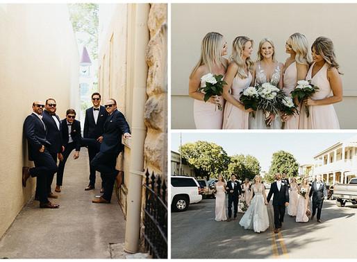 A Historic Downtown Wedding in Kerrville, TX | Schreiner Mansion