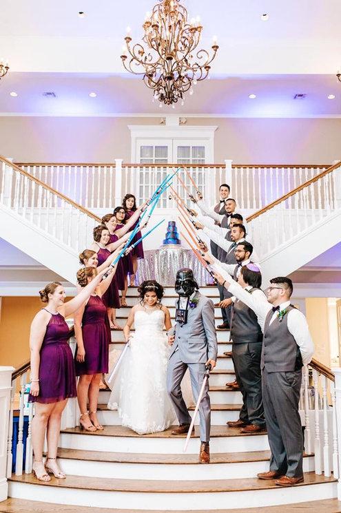 Kendall Plantation Wedding | Star Wars Wedding