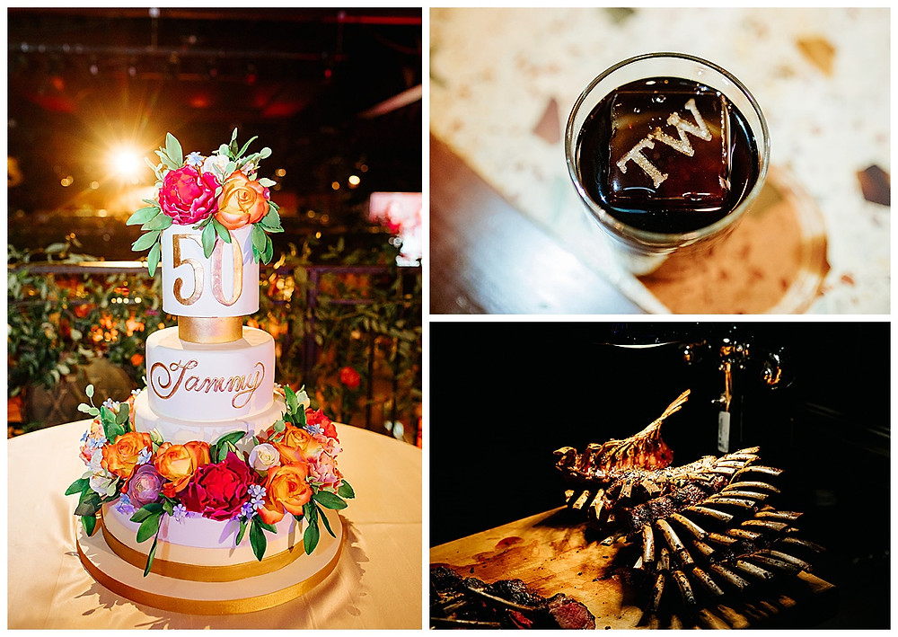 San Antonio Event Planner | Pearl Stable | Milestone Party | Surprise Birthday | Wedding Planner | Confetti Roses | Social Event Planner | Birthday Cake | Custom Ice Cubes | Catering