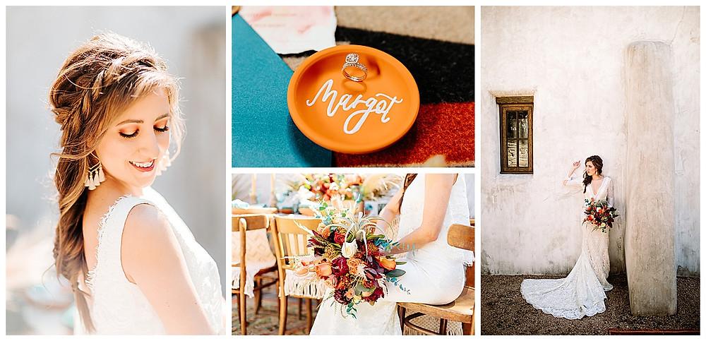 Southwestern Wedding | Hill Country Wedding | Lost Mission Wedding | Hill Country Wedding Planner | San Antonio Wedding Planner | Wedding Cake | Invitation Suite | Wedding Centerpiece | Wedding Ceremony | Bridal Bouquet | Aztec Wedding