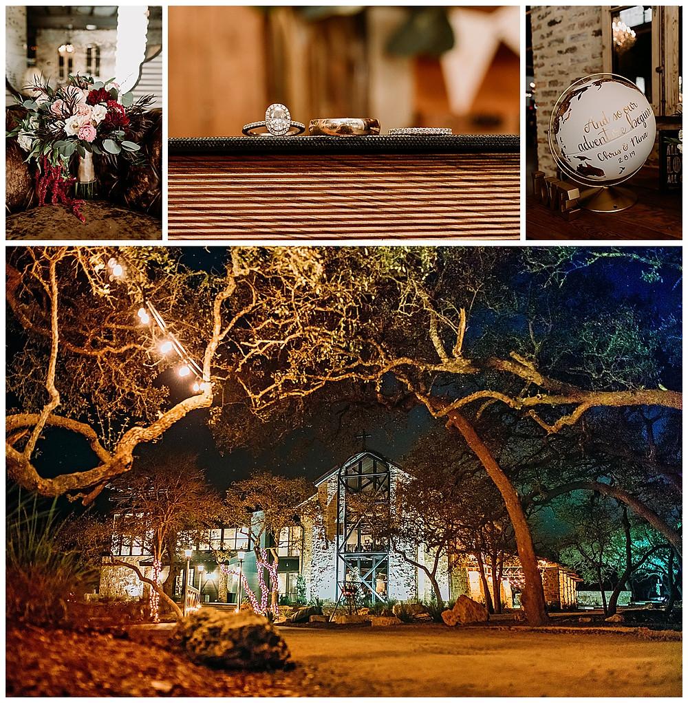 Park 31 Wedding | Spring Branch | Winter Wedding | Hill Country Wedding Planner | San Antonio Wedding Planner | Boerne Wedding Planner | Burgundy Bridal Bouquet