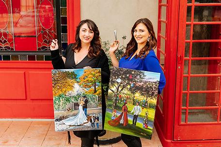 Texas Wedding Painter | Live Wedding Painter in Texas, Colorado, New Mexico and Louisiana