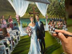 New Mexico Wedding Painter