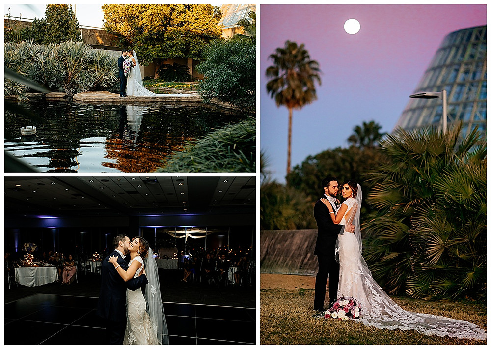 San Antonio Botanical Garden | Rosenberg Skyroom | San Antonio Wedding | Winter Wedding | San Antonio Wedding Planner | Boerne Wedding Planner | Hill Country Wedding