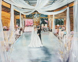 Houston Wedding Painter