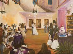 Live Wedding Painter, San Antonio Texas