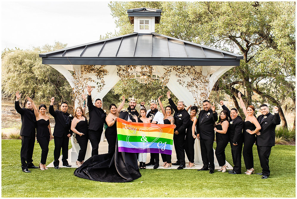Wedding at the Kendall Point, Boerne Texas Wedding Venue, Kendall Plantation Royal Gay Wedding by Snap Chic Photography