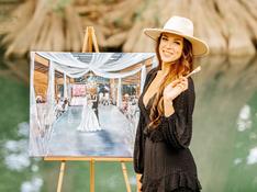 Dallas Wedding Painter