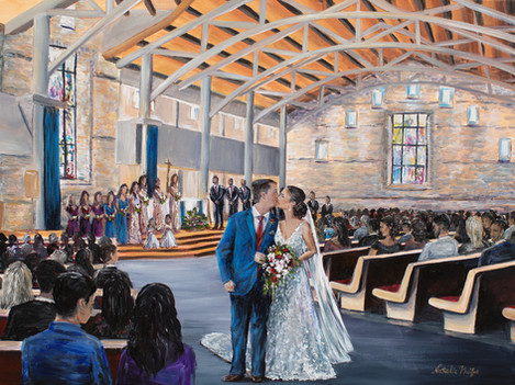New Mexico Wedding Painter