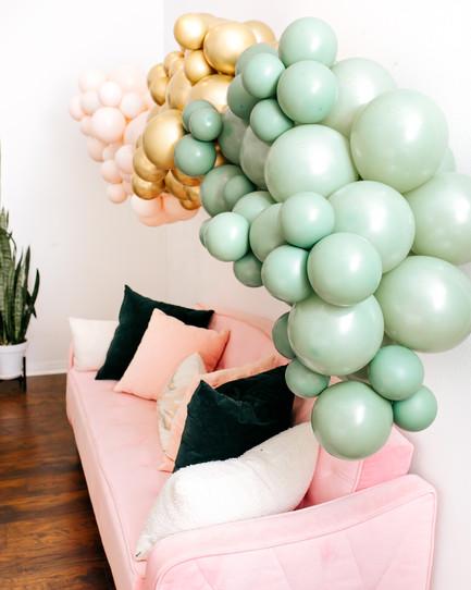Balloon Garlands for Weddings- San Antonio, TX