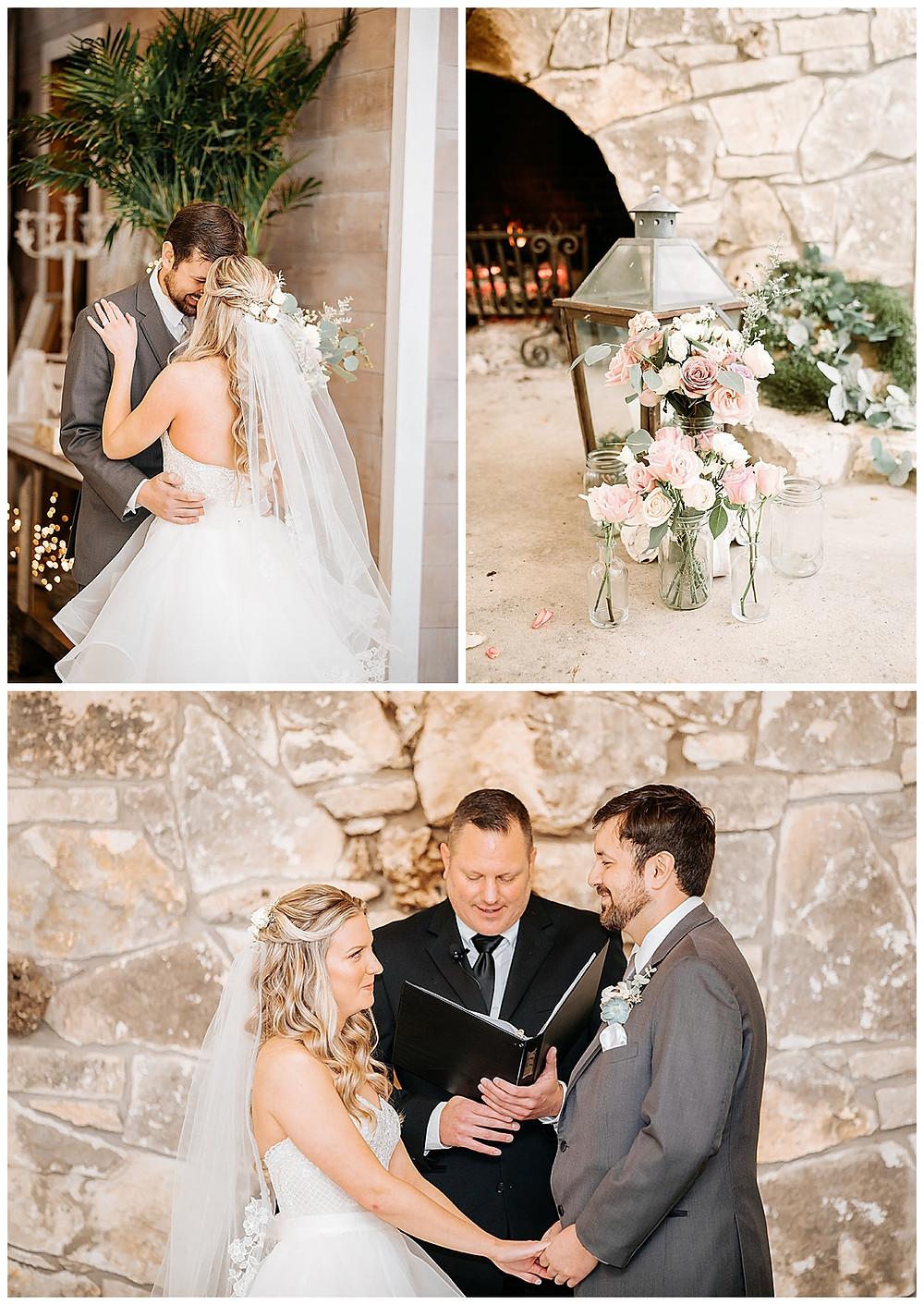 Boerne Wedding Planner | The Oaks at Boerne Wedding | Bride | Bridal Suite | Wedding Planning | Coronavirus Wedding | Wedding Ceremony | Wedding Decor