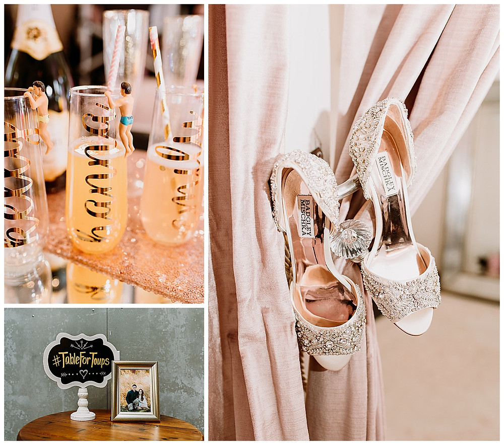 Park 31 Wedding | Spring Branch | Winter Wedding | Hill Country Wedding Planner | San Antonio Wedding Planner | Boerne Wedding Planner | Badgley Mischka Wedding Shoes