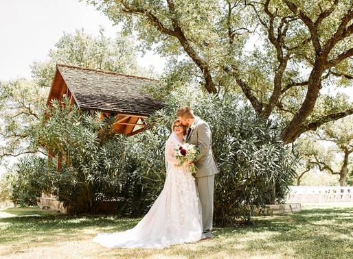 Wedding at The Milestone New Braunfels | Symphony + Bart