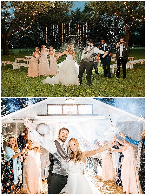 Boerne Wedding Planner | The Oaks at Boerne Wedding | Bride | Bridal Suite | Wedding Planning | Coronavirus Wedding | Sparkler Sendoff
