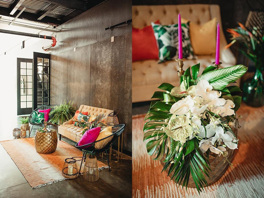 Boerne Wedding Photographer | Park 31 Wedding Photos | Bohemian Styled Shoot | The Camera Exchange Workshop in San Antonio | Tropical Wedding Floral Ideas | Boho and Tropical Styled Shoot | San Antonio Wedding | Boerne Photographer | Rustic Romance Rentals