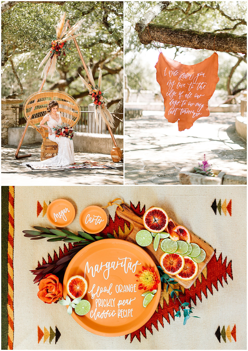 snap chic photography, southwest styled shoot, Texas hill country wedding photographer, Boerne Texas weddings, flat lay photo