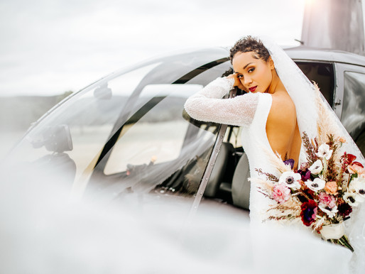 Fly Away With Me | A Helicopter Styled Shoot | Concan, TX