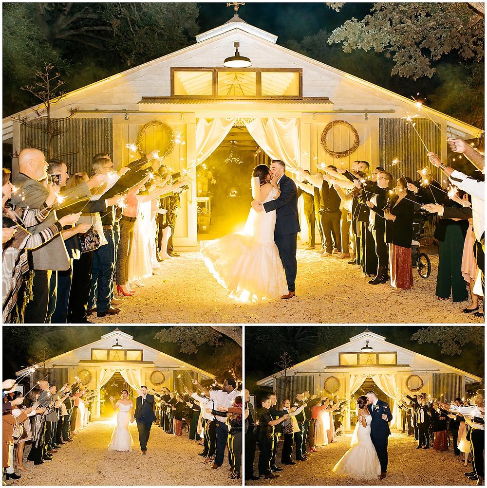 Night Portrait Ideas | Texas Wedding at The Oaks at Boerne | San Antonio Wedding Photographer | Snap Chic Photography | Sunset wedding photo ideas