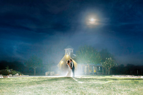Boerne Wedding Photographer | Snap Chic Photography | Wedding at Gruene Estate | Night Portrait | Snap Chic Photography | San Antonio Wedding Photographer