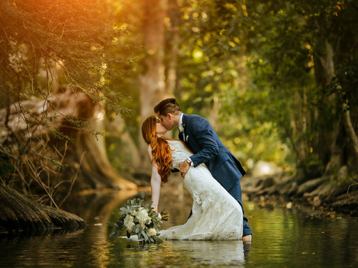 Post Wedding Day Session at The Cibolo Nature Center   Lauren + Jonathan
