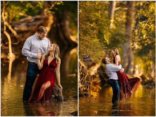 An Engagement Session at The Cibolo Nature Center | Bailey + Spencer | Snap Chic Photography