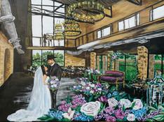 Dallas Texas Wedding Painter