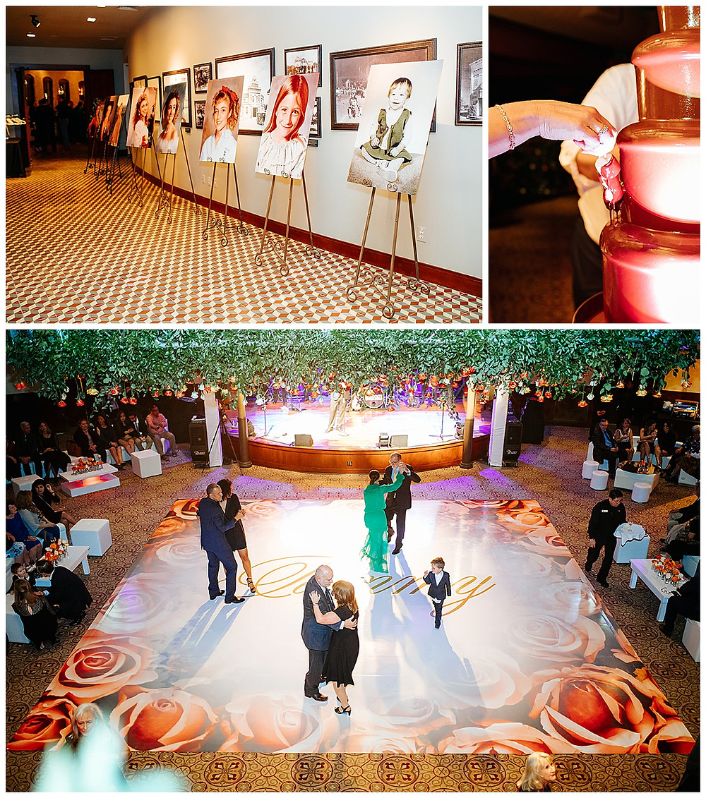 San Antonio Event Planner | Pearl Stable | Milestone Party | Surprise Birthday | Wedding Planner | Confetti Roses | Social Event Planner | Chocolate Fountain | Surprise Party